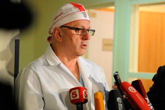 Директор НИИ скорой медицинской помощи им. Н.В. Склифосовского Могели Хубутия