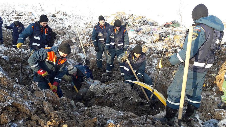 Поиски обломков после крушения пассажирского самолета Ан-148 в Раменском районе Подмосковья, 13...