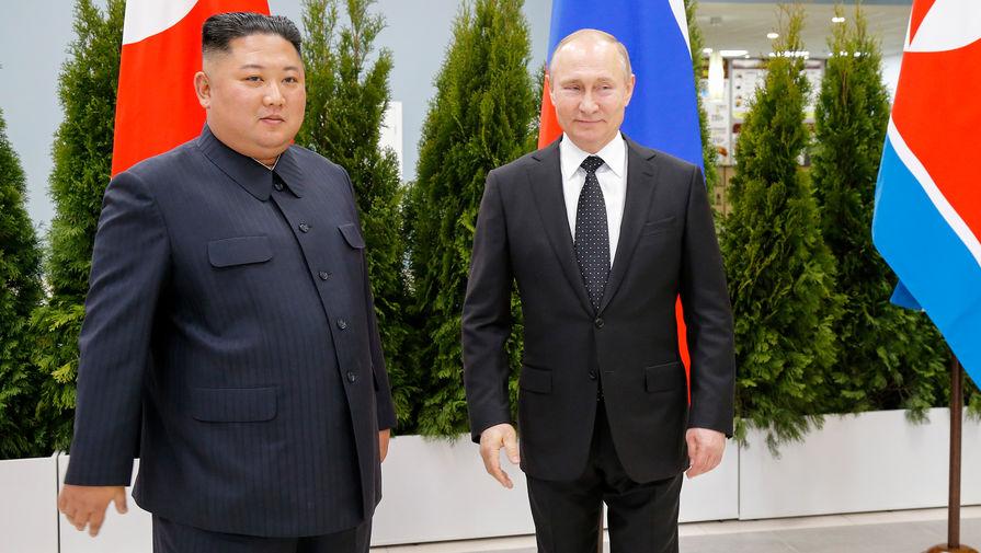 Путин поздравил РљРёРј Чен Ына СЃРґРЅРµРј основания КНДР