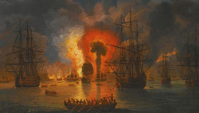 «Море усеяно трупами»: как русские выиграли Чесменское сражение