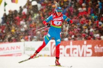 Светлана Слепцова заняла пятое место в масс-старте пятого этапа Кубка Мира