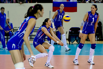 Российские волейболистки сыграет на Олимпиаде