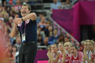 Борис Соколовский подвел итоги Олимпиады для женской сборной России по баскетболу