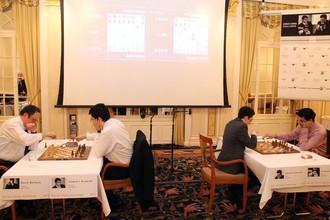 Блиц-турнир определил номера участников соревнования