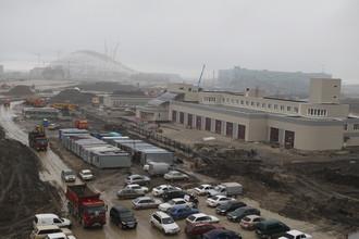 Строительство трассы «Формулы-1» в Сочи