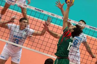 Новосибирский «Локомотив» проиграл казанскому «Зениту» в пятом туре волейбольной Лиги чемпионов