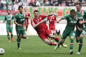«Аугсбург» стал первой командой в Германии, обыгравшей «Баварию» в этом году