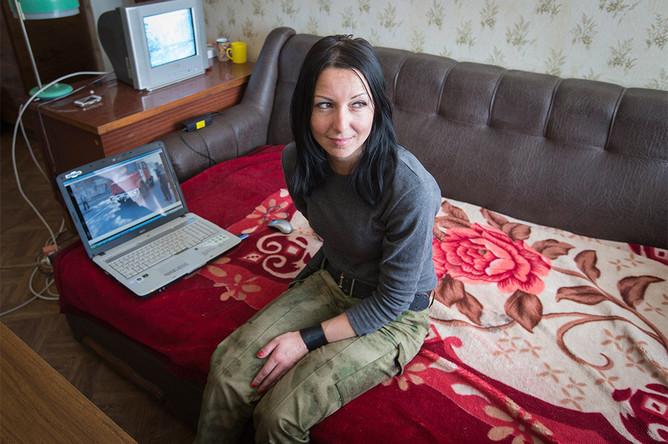 Ирина, бывший работник АЗС, теперь член разведывательной команды ополченцев