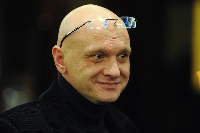 Алексей Девотченко перед началом церемонии награждения лауреатов Международной премии им. Станиславского в отеле Ritz Carlton, 2011 год