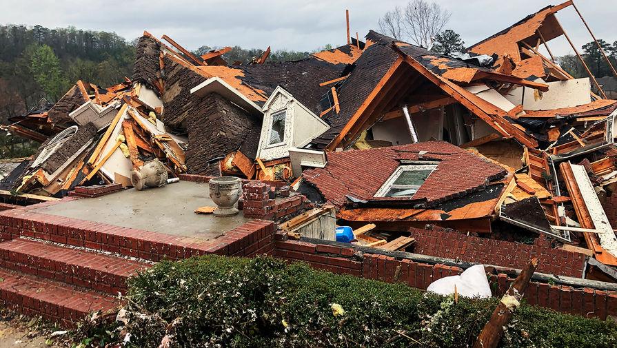 Последствия торнадо в штате Алабама в США, 25 марта 2021 года
