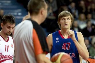 Андрей Кириленко пока еще не освоил сложные тактические схемы ЦСКА