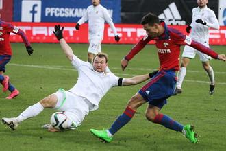 В октябре 2015 года ЦСКА обыграл «Уфу» на своем поле со счетом 2:0