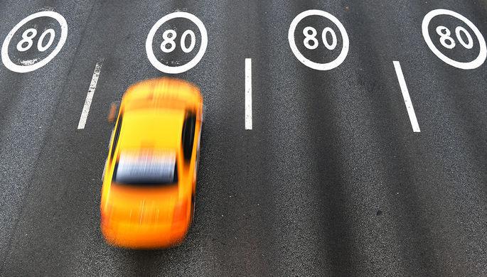 Новые порог скорости: как будут штрафовать за превышение