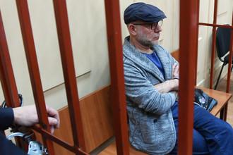 Бывший директор Гоголь-центра Алексей Малобродский в Басманном суде Москвы, 17 октября 2017 года