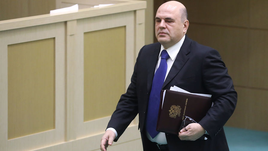 Руководитель Федеральной налоговой службы (ФНС) РФ Михаил Мишустин, 2019 год