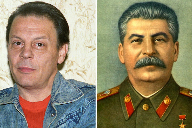Александр Бурдонский и его дедушка Иосиф Сталин