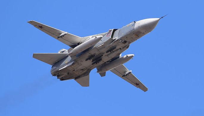 24 ноября 2015 года фронтовой бомбардировщик Су-24М был сбит истребителем F-16C ВВС Турции на сирийско-турецкой границе, пилот погиб, штурман выжил<br><br>10 октября 2017 года еще один Су-24 выкатился за пределы ВПП на аэродроме Хмеймим и разрушился, оба летчика погибли