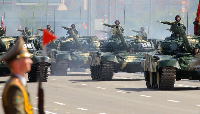 Военная техника для Парада Победы прибыла в столицу