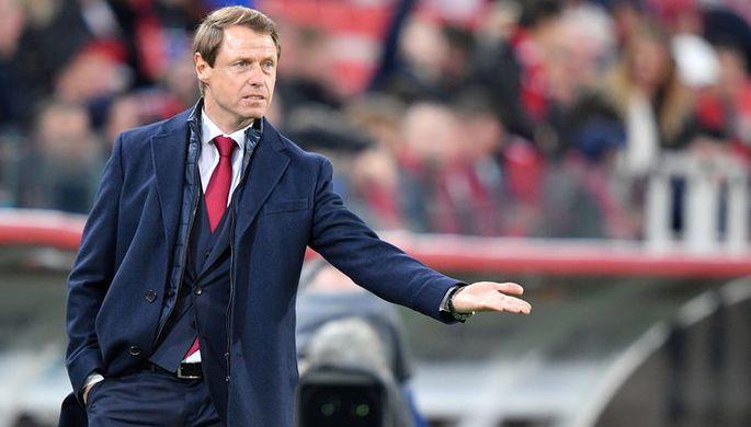 Председатель совета директоров «Спартака» Леонид Федун на матче своего клуба