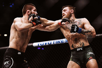 Хабиб и Конор проводят бой на UFC 229
