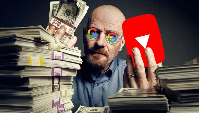 Удачная сделка Google: сколько зарабатывает YouTube