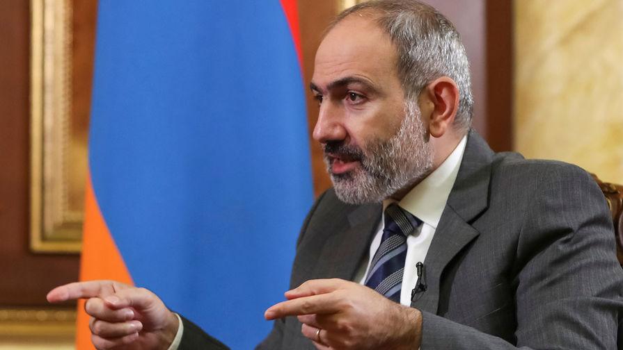 Пашиняна второй раз выдвинули на пост премьера Армении