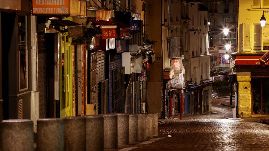 Франция вводит комендантский час из-за коронавируса