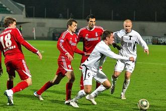 Футболисты «Торпедо» проиграли команде «Мордовии»