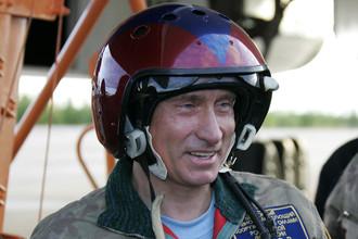 Путин продолжает предаваться экстремальным развлечениям