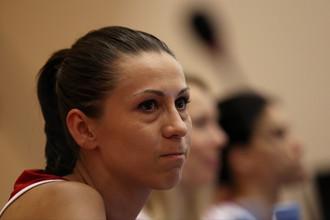 Баскетболистка сборной России Евгения Белякова