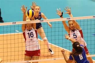 Поражение от Таиланда стало четвертым для женской сборной России по волейболу на Всемирном Кубке чемпионов
