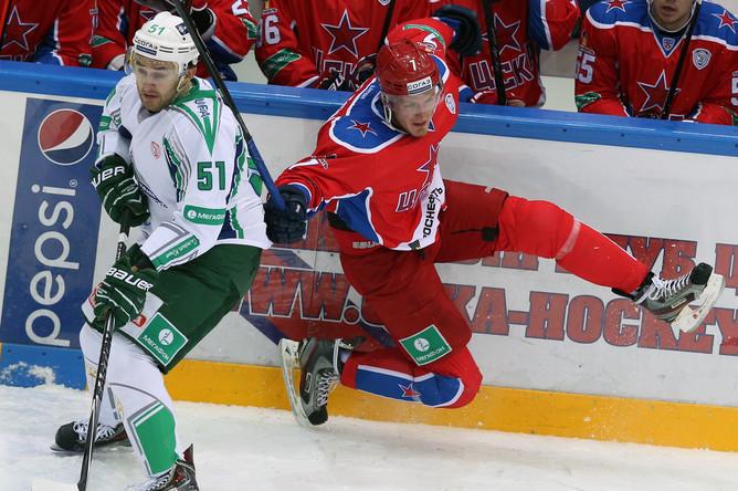 ЦСКА разгромил бывшую команду своего лидера Александра Радулова
