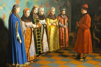 «Выбор невесты царём Алексеем Михайловичем»