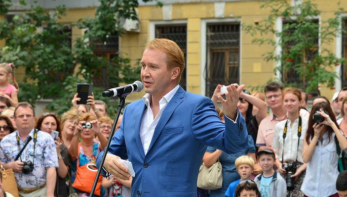 Ученик Олега Табакова, артист, художественный руководитель Государственного театра наций Евгений...