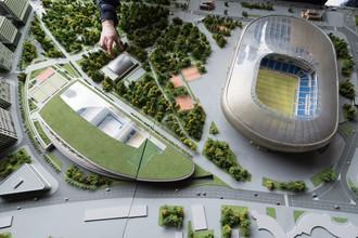 Так будет выглядеть «ВТБ Арена Парк», когда строительство будет завершено