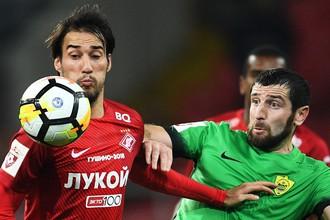 «Спартак» опять потерял очки в матче с аутсайдером
