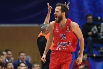 Игрок баскетбольного ЦСКА Серхио Родригес