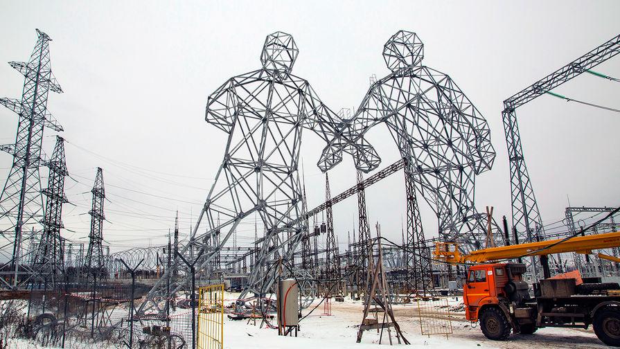 Опоры для высоковольтных линий электропередачи в Пермском крае, 2016 год
