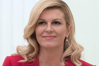 Президент Хорватии Колинда Грабар-Китарович