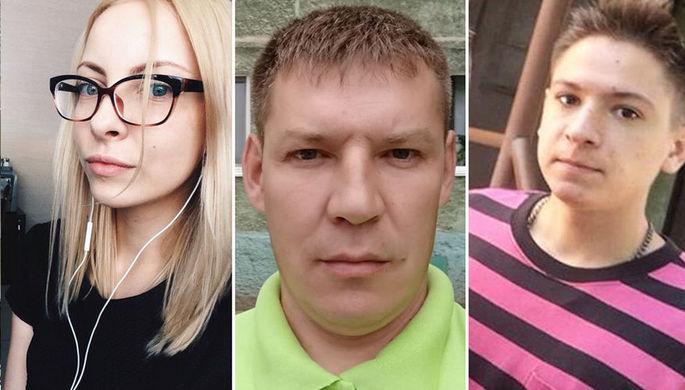 Мария Матузная, Даниил Маркин и Андрей Шашерин