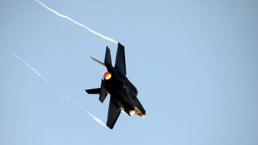 Названа причина крушения F-35A ВВС Японии