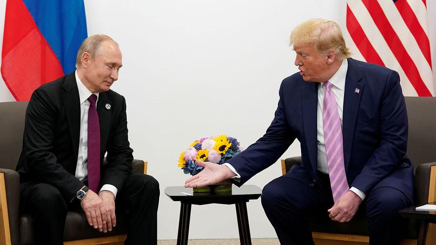 Трамп пошутил над Путиным