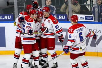 ЦСКА — регулярный чемпион КХЛ