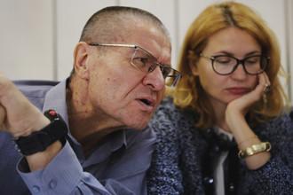Бывший глава Минэкономразвития Алексей Улюкаев во время заседания Замоскворецком суда, 1 сентября 2017 года