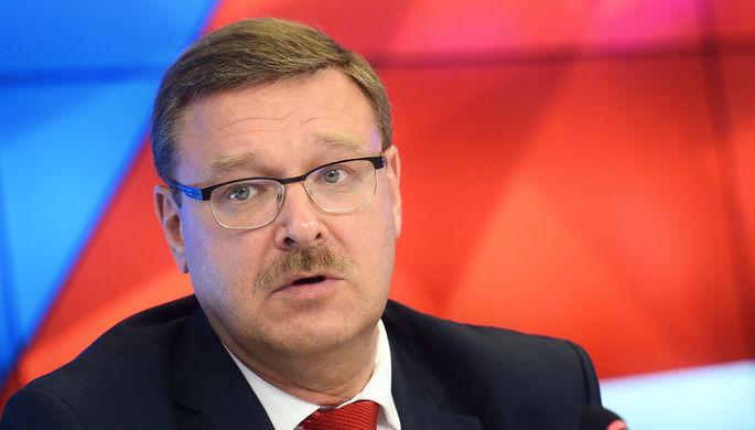 На инцидент с российскими депутатами в Грузии отреагировал Косачев