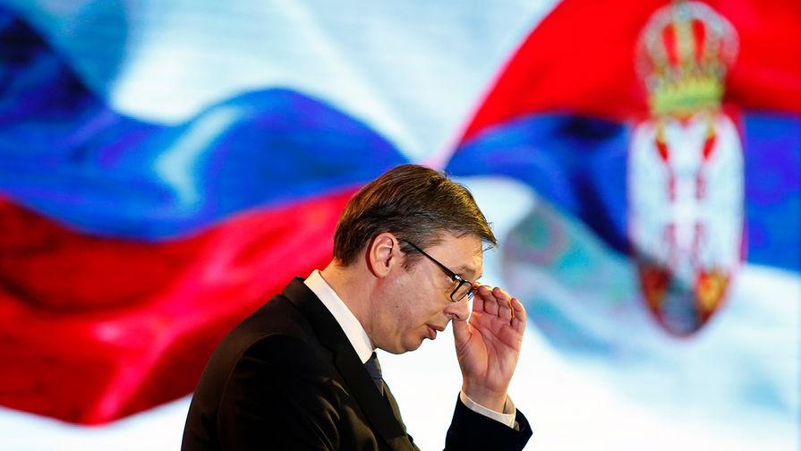 Президент Сербии отложил обращение к нации из-за недомогания