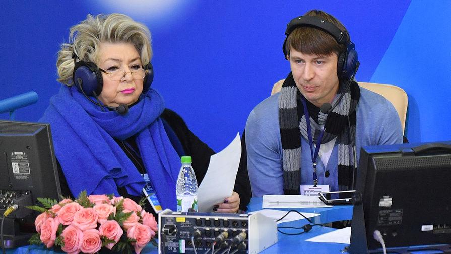 Тарасова попросила разрешить тренировки фигуристов
