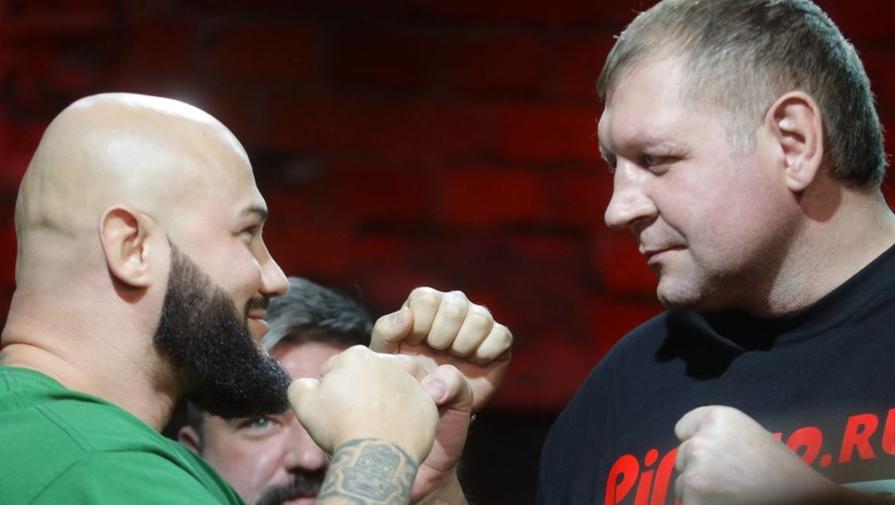 Джиган и Александр Емельяненко