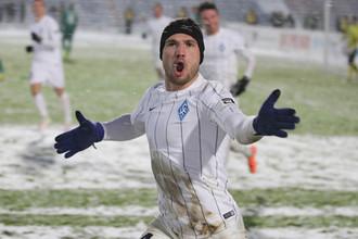 Йоан Молло во время матча против «Томи», в котором он оформил дубль