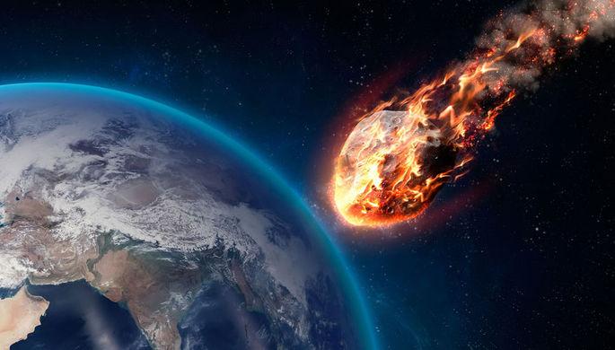 Названа вероятность столкновения огромного астероида с Землей